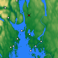 Nearby Forecast Locations - Ås - Mapa