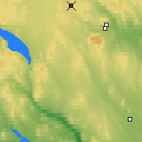 Nearby Forecast Locations - Latnivaara - Mapa