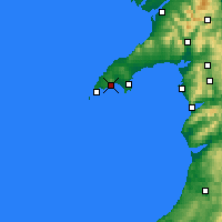 Nearby Forecast Locations - Llŷn - Mapa