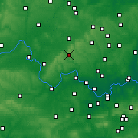 Nearby Forecast Locations - High Wycombe - Mapa