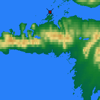 Nearby Forecast Locations - Stykkishólmur - Mapa