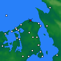 Nearby Forecast Locations - Nakkehoved - Mapa