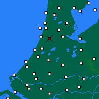 Nearby Forecast Locations - Haarlem - Mapa