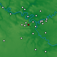 Nearby Forecast Locations - Vélizy-Villacoublay - Mapa