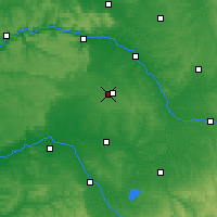 Nearby Forecast Locations - Châlons-en-Champagne - Mapa