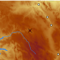 Nearby Forecast Locations - Molina de Aragón - Mapa