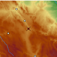 Nearby Forecast Locations - Calamocha - Mapa