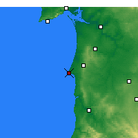 Nearby Forecast Locations - Sines - Mapa