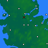 Nearby Forecast Locations - Jagel - Mapa