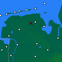 Nearby Forecast Locations - Wittmund - Mapa