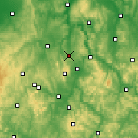 Nearby Forecast Locations - Calden - Mapa
