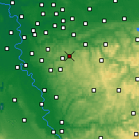 Nearby Forecast Locations - Schauenburg - Mapa