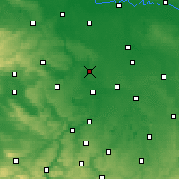 Nearby Forecast Locations - Halle - Mapa