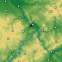 Nearby Forecast Locations - Andernach - Mapa
