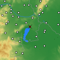 Nearby Forecast Locations - Neusiedl am See - Mapa