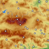 Nearby Forecast Locations - Lomnický štít - Mapa