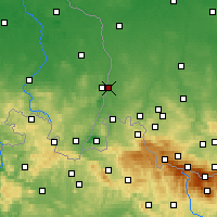 Nearby Forecast Locations - Zgorzelec - Mapa