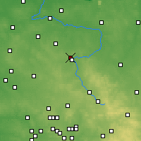 Nearby Forecast Locations - Čenstochová - Mapa