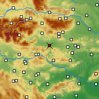Nearby Forecast Locations - Celje - Mapa