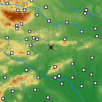 Nearby Forecast Locations - Krapina - Mapa