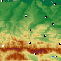 Nearby Forecast Locations - Loveč - Mapa