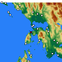Nearby Forecast Locations - Lefkada - Mapa
