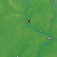Nearby Forecast Locations - Zhukovka - Mapa