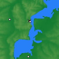 Nearby Forecast Locations - Tetyushi - Mapa