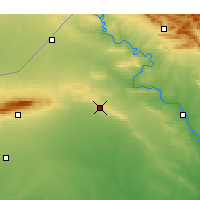 Nearby Forecast Locations - Tal Afar - Mapa