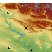 Nearby Forecast Locations - Dohuk - Mapa