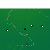 Nearby Forecast Locations - Dinajpur - Mapa