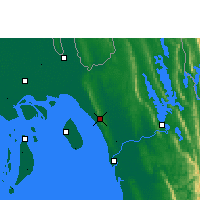 Nearby Forecast Locations - Sitakunda - Mapa