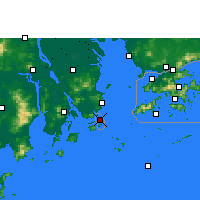 Nearby Forecast Locations - Macao - Mapa