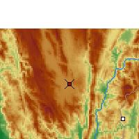 Nearby Forecast Locations - Loikaw - Mapa