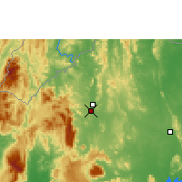Nearby Forecast Locations - Loei - Mapa