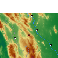 Nearby Forecast Locations - Doi Mu Soe Agromet - Mapa