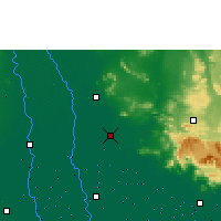Nearby Forecast Locations - Ayutthaya Agromet - Mapa