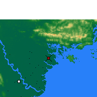 Nearby Forecast Locations - Phu Lien - Mapa