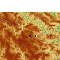 Nearby Forecast Locations - Sam-neua - Mapa