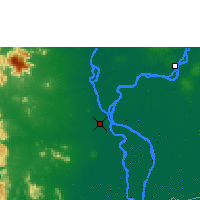 Nearby Forecast Locations - Phnompenh - Mapa