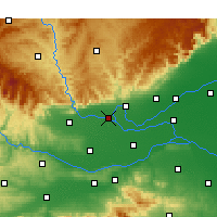 Nearby Forecast Locations - Qinyang - Mapa