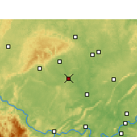 Nearby Forecast Locations - C'-kung - Mapa