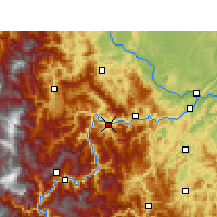 Nearby Forecast Locations - Suijiang - Mapa