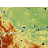 Nearby Forecast Locations - I-pin - Mapa
