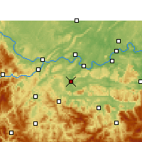 Nearby Forecast Locations - Changning - Mapa
