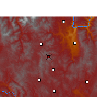 Nearby Forecast Locations - Yao'an - Mapa