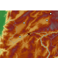 Nearby Forecast Locations - Wantingzhen - Mapa