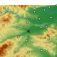 Nearby Forecast Locations - Luo-jang - Mapa