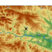 Nearby Forecast Locations - Yunxi - Mapa