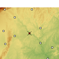 Nearby Forecast Locations - Santai - Mapa